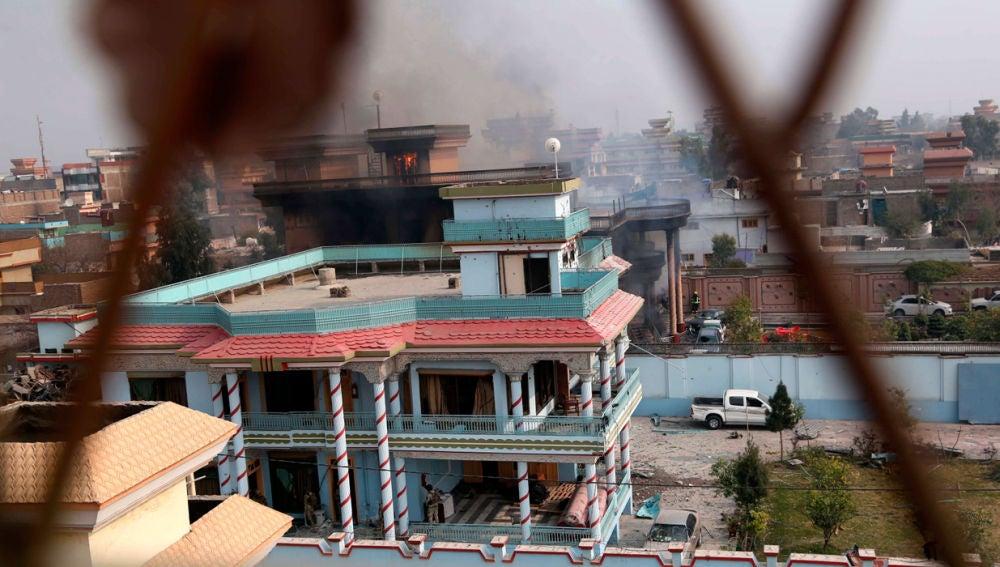 Ataque a la sede de Save the Children en Afganistán