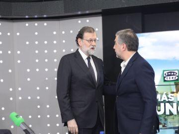 Mariano Rajoy con Carlos Alsina