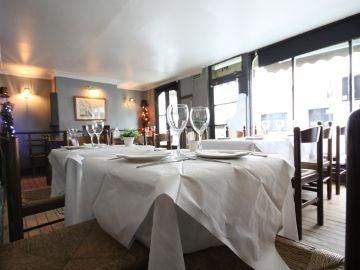 Imagen de archivo de un restaurante