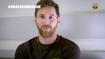 """Emotivo mensaje de despedida de la plantilla del Barça a Mascherano: """"Ha sido hermoso compartir todo"""""""