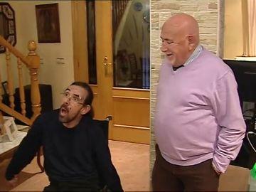 paliza discapacitado
