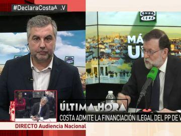 Carlos Alsina, en Al Rojo Vivo