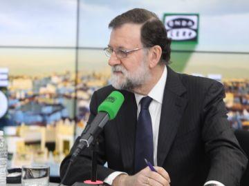 Mariano Rajoy en su entrevista en Onda Cero