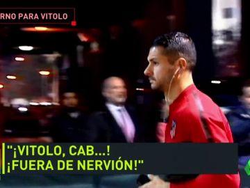 El infierno de Vitolo en Sevilla