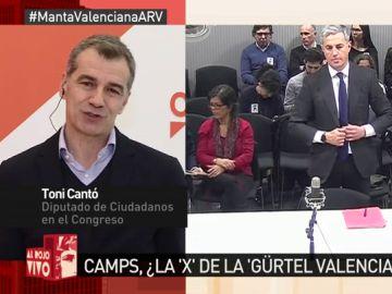 Toni Cantó, en Al Rojo Vivo