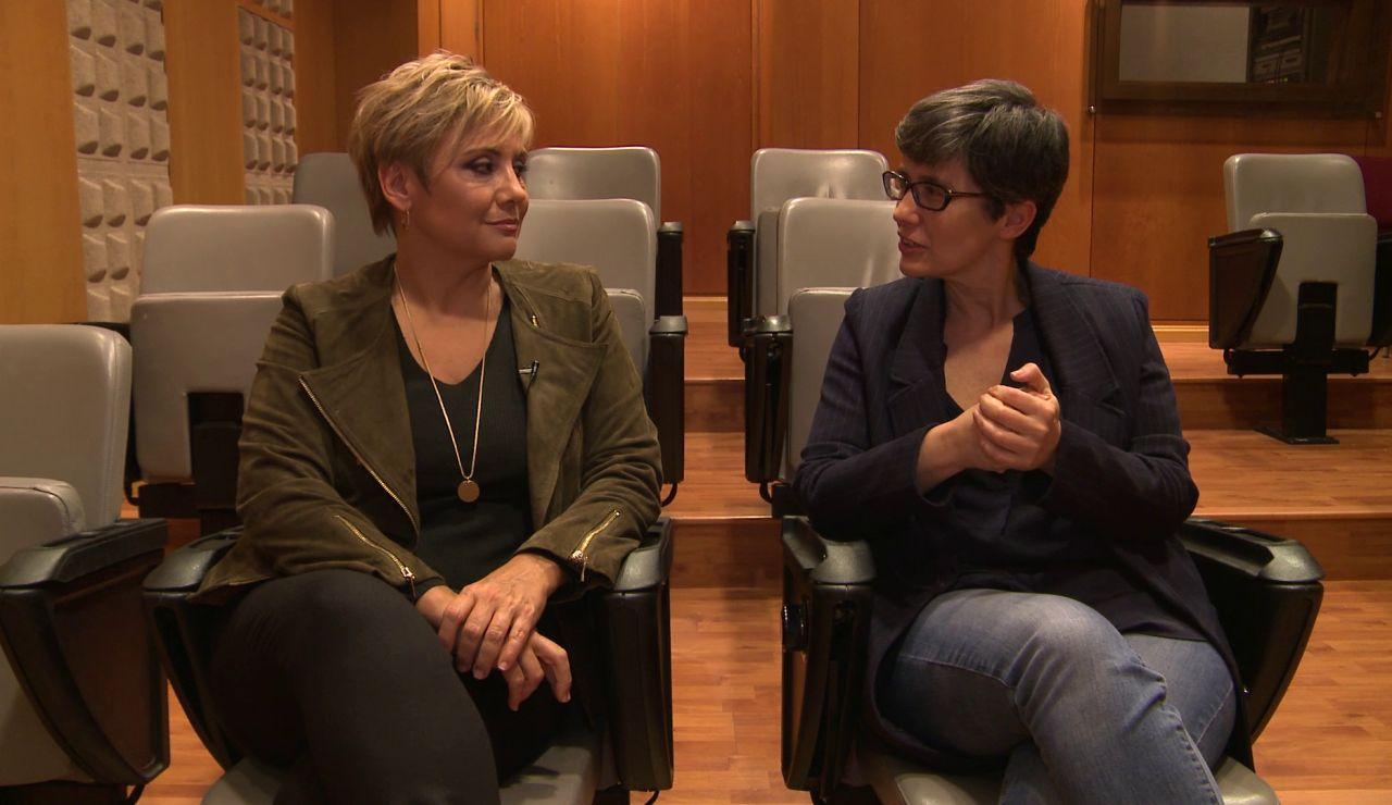 Gloria Serra y Luz Aldama