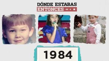 Famosos que nacieron en 1984
