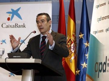 El director general de CaixaBank, Juan Antonio Alcaraz