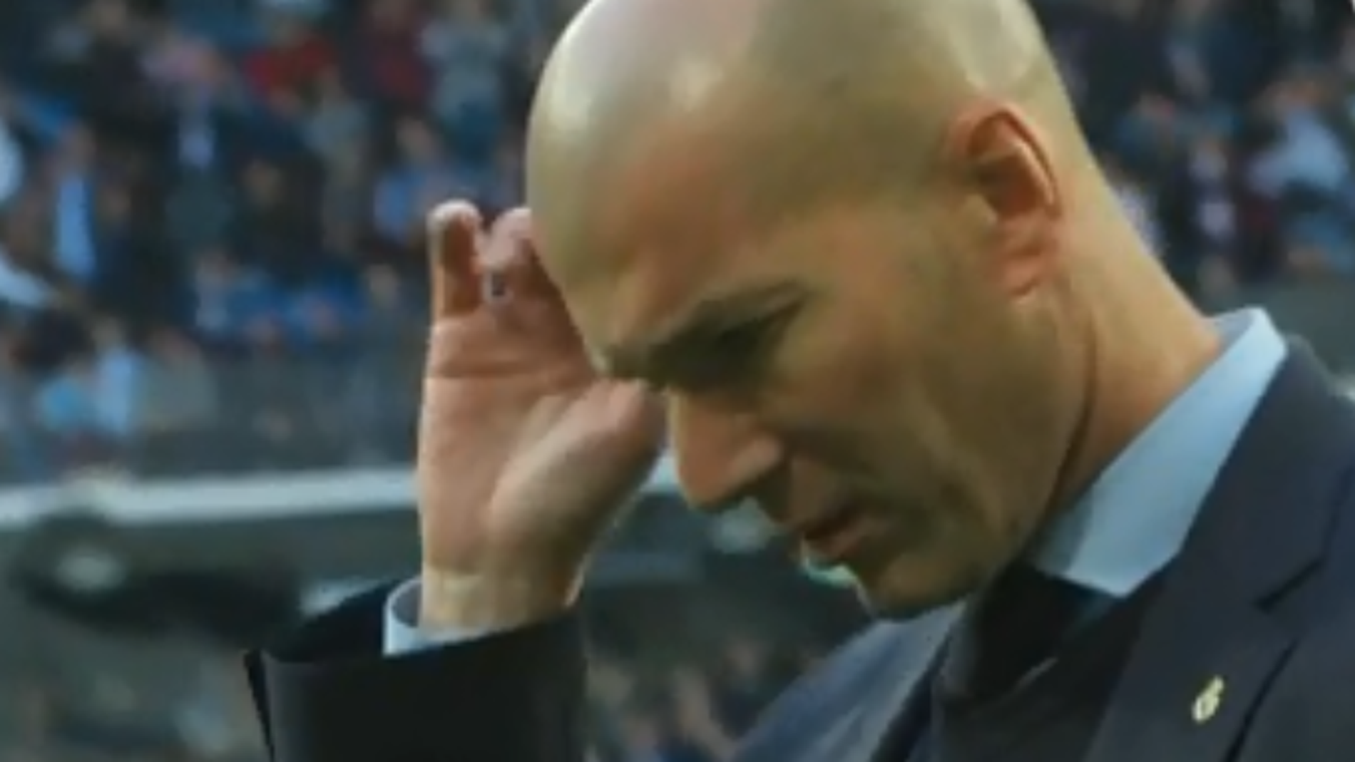 Zidane, señalado tras la eliminación en Copa