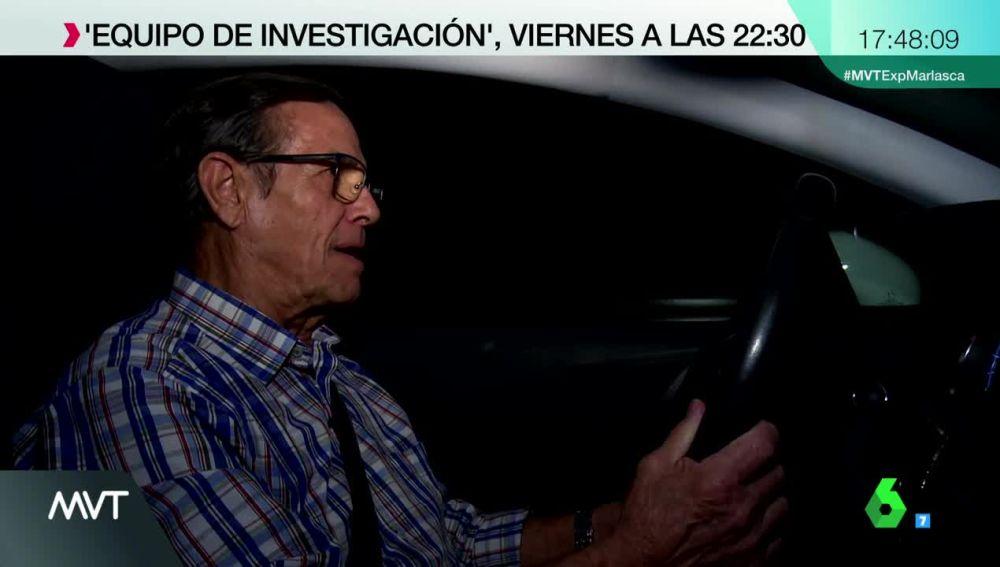 Equipo de Investigación habla con el taxista que recogió a Anglés