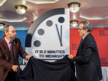 El Reloj del Juicio Final, a dos minutos de la medianoche