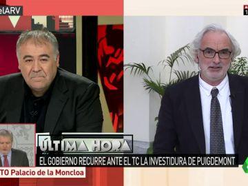 El profesor de Derecho Constitucional de la Universidad de Sevilla, Fernando Álvarez-Ossorio