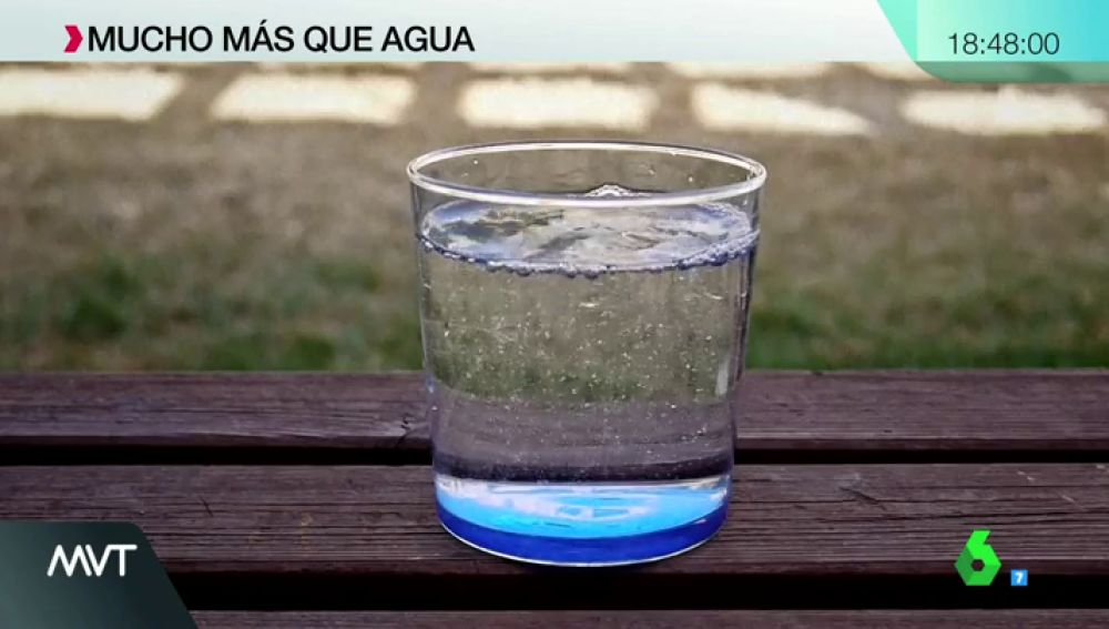 Imagen de un vaso de agua