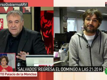 """Jordi Pujol, Juan Cotino, Carles Puigdemont... Ferreras adelanta """"la maldición de Salvados"""" en ARV"""