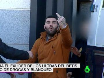 Detenido el exlíder de los ultras del Betis