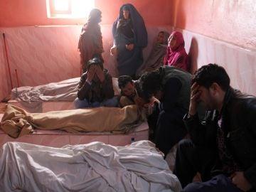 Fallecidos por un proyectil en Afganistán