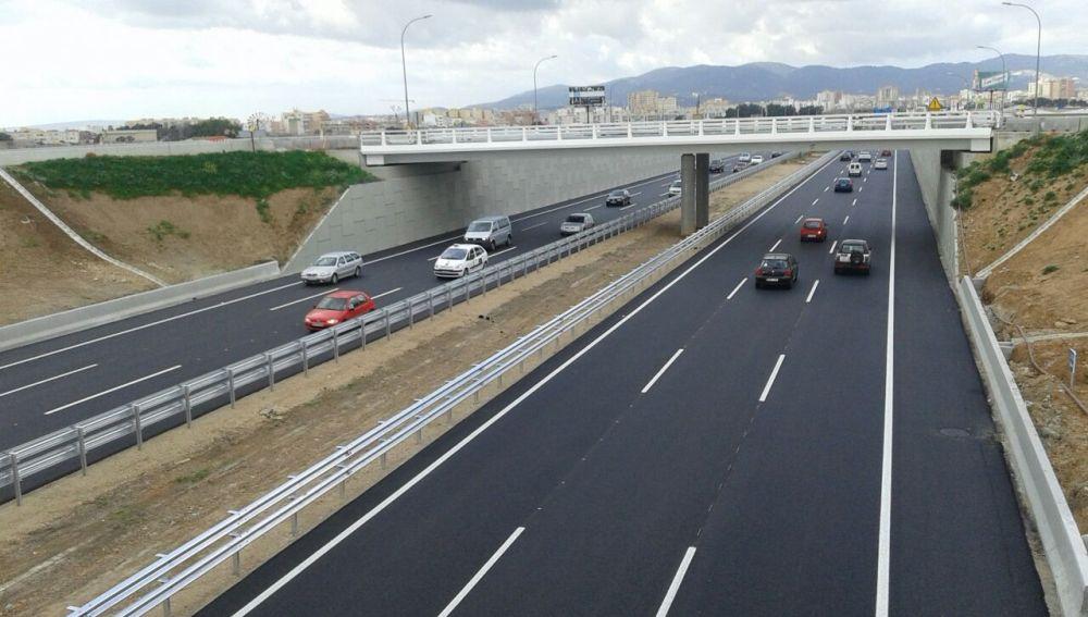 Foto de archivo de la autopista de Inca