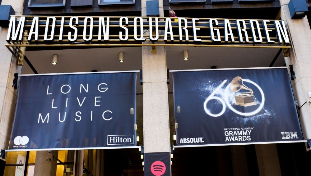 Fachada del Madison Square Garden