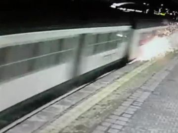 Tren accidentado Italia