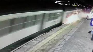 Tren accidentado Italia