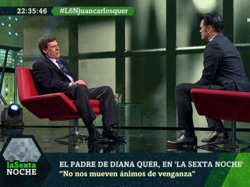 Juan Carlos Quer en laSexta Noche
