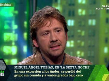 Miguel Ángel Tobías en laSexta Noche