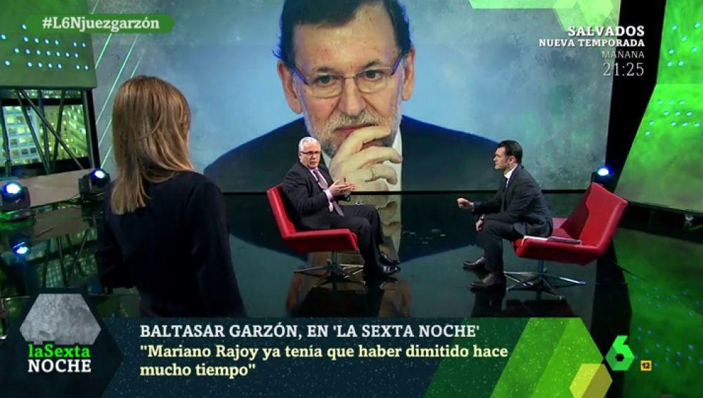Baltasar Garzon en laSexta Noche