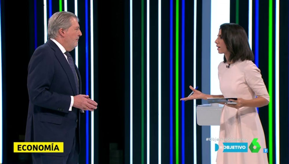 Íñigo Méndez de Vigo con Ana Pastor