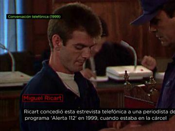 Miguel Ricart, en 1999