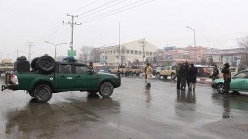 Imagen de una calle de Afganistán