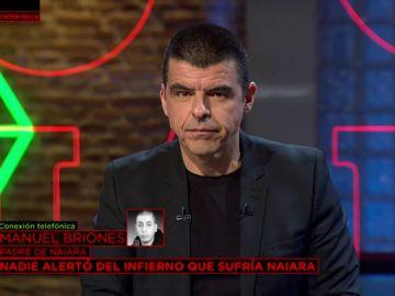 Entrevista al padre de Naiara, Manuel Briones