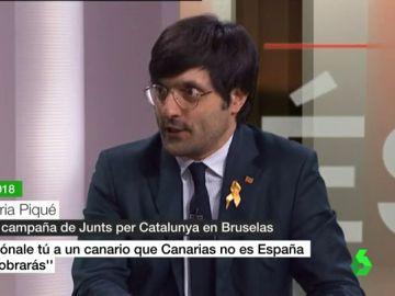 Joan Maria Pique, jefe de comunicación de Puigdemont