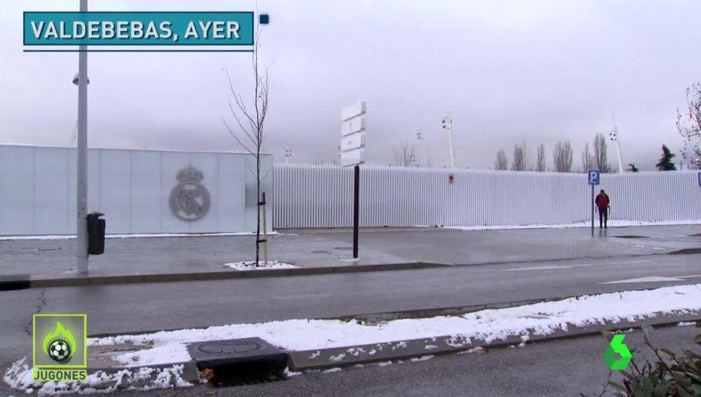 Nieve en Valdebebas