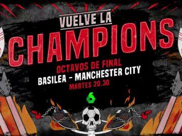 El Basilea - Manchester City y el más amplio resumen del Madrid - PSG, en laSexta y Atresplayer