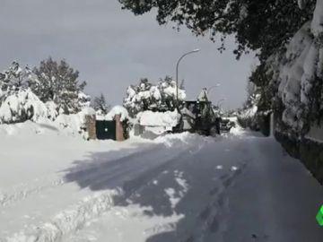 aislados nieve