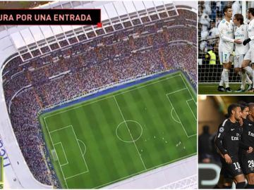Locura por conseguir una entrada para el Madrid - PSG