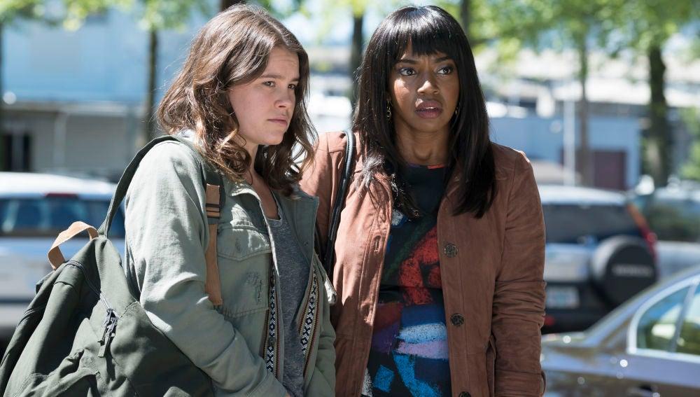 Escena en el segundo episodio de 'Here and Now'