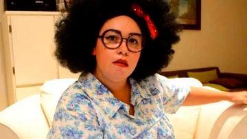 Pamela Montenegro, 'La Nana Pelucas'