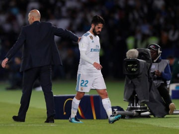 Zidane e Isco