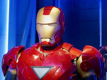 El traje de Iron Man