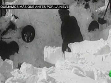 La hemeroteca prueba que no hace tanto frío: la ola de nieve del 56 dejó 1.000 muertos y récord de 32 bajo cero