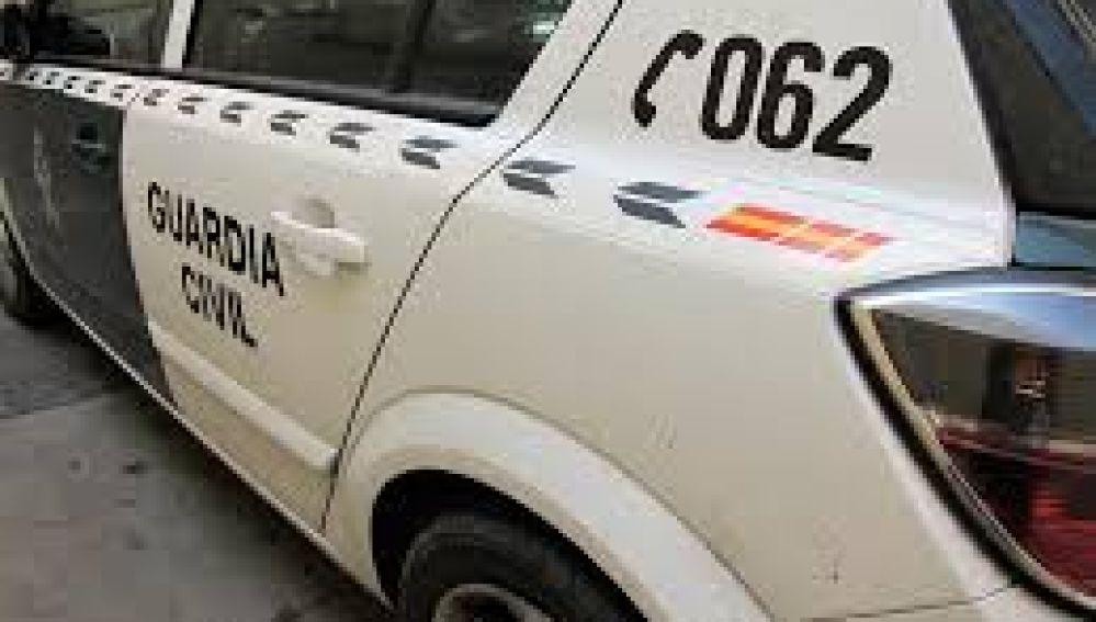 Borrosa - No usar - coche guardia civil