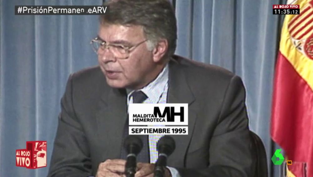 Felipe González en 1995
