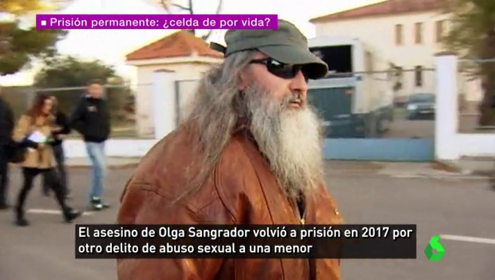 Juan Manuel Valentín Tejero tras salir de la cárcel