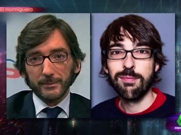 El increíble parecido de Quique Peinado con Iñaki Oyarzábal del Partido Popular