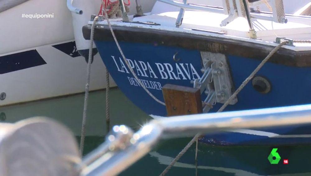 El velero de 'El NiNi'