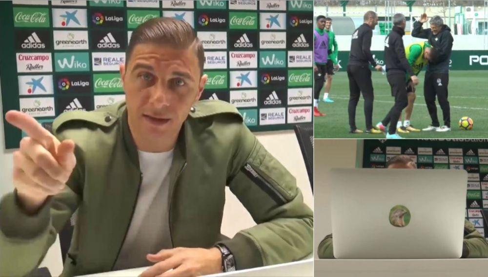 Joaquín se 'venga' de la broma del Betis
