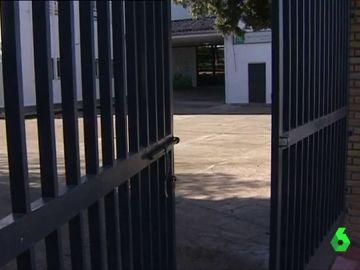 Imagen del colegio del alumno que denunció la violación