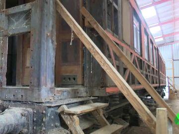 El tren de Hendaya continúa abandonado