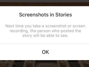 Aviso de Stories